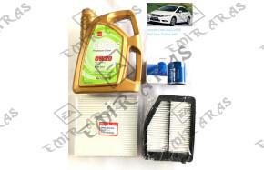 Bakım Seti Civic 12-16 Fb7 (Hava+Yağ+Polen+Motor Yağı Eneos 4lt)