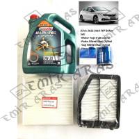 Bakım Seti Civic 12-16 Fb7 (Hava+Yağ+Polen+Motor Yağı Castrol 4lt)