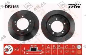 Fren Diski Ön Vitara JLX 88-98 5 Kapı 1,6 / Jimny 03- Havalı 287mm (5)